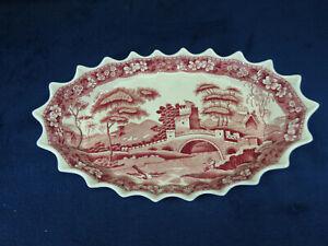 Copeland Spode Tower Pink Old Mark Serving Bowl