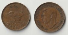 1948 Great Britain farthing coin