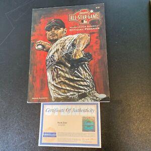 Beautiful Derek Jeter Signed 2004 Official All Star Game Program Steiner COA