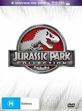 JURASSIC PARK COLLECTION - 4 MOVIES ON BLURAY + DIGITAL ULTRAVIOLET
