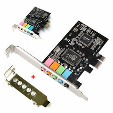 New PCI Express PCI-E 5.1ch CMI8738 Audio Sound Card w/ Low Profile Bracket