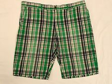 Polo Ralph Lauren Green / Blue / Red Men's Plaid Shorts - Size 42 - $75.00