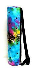 New listing Multi Color Yoga Mat Carrier Bag Fitness Gym Bag Hippie Mandala Print Shoulder