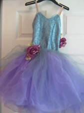 NEW Lovely steel blue & lavender tutu -  Fairy Dance, Costume Child size 2-4