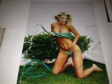 Jenny McCarthy MTV Playboy Playmate Hand Signed 11x14 Autographed Photo W/COA