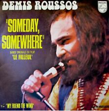 DEMIS ROUSSOS someday somewhere/my friend the wind SP++