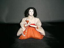 ANTIQUE GOFUN PERFORMANCE ARTS JAPANESE DOLL MEIJI PERIOD