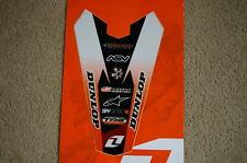 ONE IND REAR FENDER GRAPHICS  KTM  85 SX SX85 85SX #091
