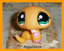 Littlest Pet Shop Exclusive ORANGE COBRA SNAKE 1387