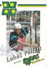 Lukas Pollert TOP AK Original Signiert Kanu +A33425