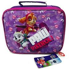 PAW PATROL LUNCH BAG BOX AND BOTTLE BRAND NEW ALL IN ZIP BAG CHILD DINER SET
