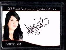 Ashley Fink Signed Autograph Glee 258 West Authentic #96 of 450