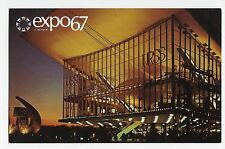 Expo 67 Montreal Canada Pavilion of the Soviet Union Vintage Postcard