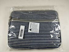 """Case Star Small Tablet Carry Case, Navy & Gray 10"""" x 8"""" New B2"""