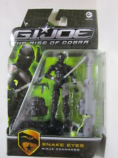 3 3/4 GI JOE 2008 THE RISE OF COBRA SNAKE EYES NINJA COMMANDO