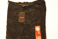 Women's  Black Lace Blouse,Evening, Lined, Poly/Nylon Blend. Made by Fever