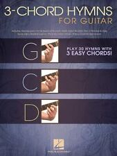 3-Chord Hymns For Guitar - Play 30 Hymns With Three Easy Chords: G-C-D