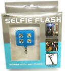 Selfie Flash Portable 4 LED 3 Settings Rechargable