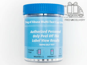 5 Workplace & Employment Drug Screening Test Kit 15 in 1 Urine Testing Cup Fast