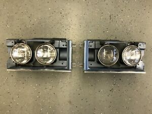 1974 Chevrolet Caprice Headlight Buckets W Trim Donk 74 Chevy