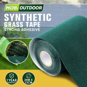 Artificial Grass Self Adhesive 15CMx20M Turf Joining Tape Glue Peel Synthetic