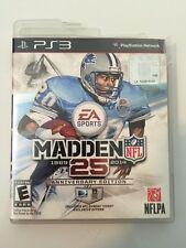 Madden NFL 25 -- Anniversary Edition (Sony PlayStation 3, 2013)