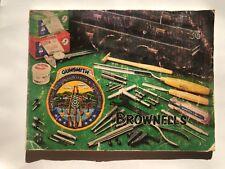 1983 Brownell's Gun Accessories, Reloading, Gunsmithing Tool Catalog