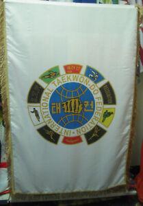 ITF TAEKWONDO TURTLE FLAG - Also - Equipment - Bags, Keyring, Books, Dobok, Pads