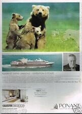 Publicité advertising 2014 Bateau Yachting de croisière Ponant