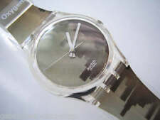 """OXYGEN! Swatch """"ELEMENT"""" Watch of L.A.'s Skyline in SPECIAL SLEEVE! NIP-RARE!"""