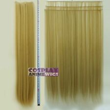 Pecan Blonde Hair Weft Extention (3 pieces) - 60cm High Temp - Cosplay 7_016