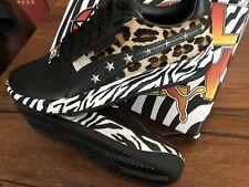 KISS Paul Stanley PUMA GV Zebra Sneaker Schuh Größe 36 EU 4,5 US End of the Road