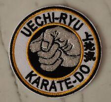 KARATE Uechi-ryu Iron on PATCH Aufnäher Parche brodé patche toppa Pangai-noon