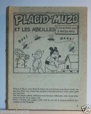 LIVRE BANDE DESSINEE BD MADE IN FRANCE ARNAL 162 PAGES PLACID MUZO POCHE N°171 b