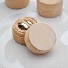 Fashion Rustic Ring Bearer Box Wooden Wedding Ring Box Bearer Pillow Box Gift #