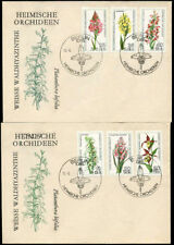 German & Colonies Flowers First Day Covers Stamps