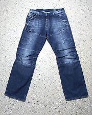 G-Star general 5620 3d Loose Montana embro Jeans Hose w38 l34 Raw Denim j605