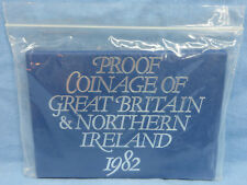 Proof Coinage of great Britain & Northern Ireland 1982 Coins in sealed container