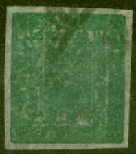 More details for nepal 1899 1a blue-green sg14 fine used