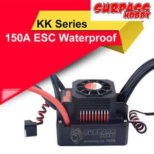 SURPASS HOBBY KK 150A ESC Waterproof Controller for RC Car 1/8 Brushless Motor