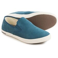 SeaVees 02/64 Baja Varsity Sneakers - Suede, Color: Atlantic, Size: 6.5 (B, M)