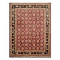 """8'10"""" x 11'9"""" Rare Romanian Oushak Hand Knotted Wool Oriental Area Rug"""