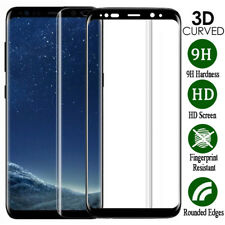 For Samsung Galaxy S10 S9 S8 Plus S7 Full Cover Tempered Glass Screen Protector