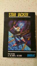 STAR JACKER SEGA SC-3000 E SG-1000 PAL CON SCATOLA
