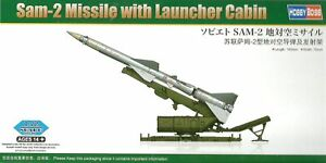 Hobby Boss 1/72 (20mm) SAM-2 Missile with Launcher Cabin