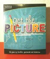 Marks & Spencer NEW Get The Picture Family Drawing Party Game ~ Players Age 8+