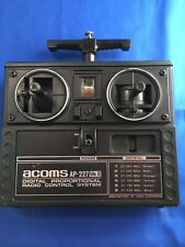 Acoms Ap227 Vintage Mk2 Transmitter Rc Car Radio Gear Working Vgc 27 Mhz