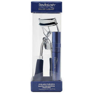 REVITALASH DELUXE LASH CURLER AND MINIMASCARA KIT RAVEN