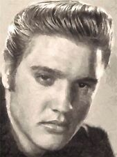 ART PRINT POSTER PAINTING PORTRAIT MUSIC artIST ROCK star ELVIS PRESLEY NOFL0107