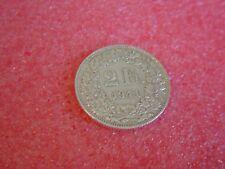 Silber-Münzen 1941 B Schweiz 1 x 2 Franken sihe Bild  Silver Coin Svizzera